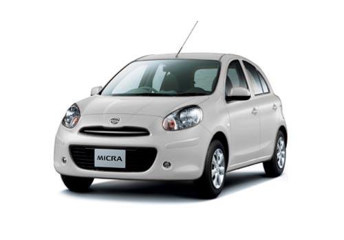 Santorini Car Rental Greece - Nissan Micra
